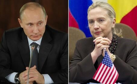 Hillary Clinton, Vladimir Putin