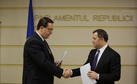 Vlad Filat si Marian Lupu