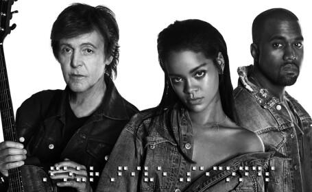 Rihanna, Paul McCartney, Kanye West