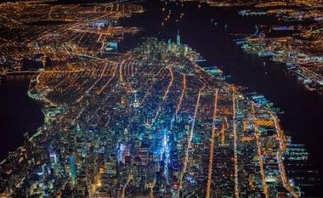 Imaginile fascinante cu un New York in \
