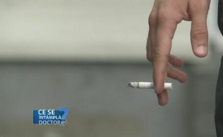 Fumatul provoaca cicatrici la nivelul plamanilor. Incercarea organelor de a se reface duce la aparitia cancerului