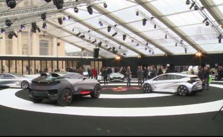 Expozitie de masini concept de la Paris. Cine a produs autoturismul care consuma un litru de benzina la suta de kilometri