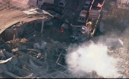 Tragedie in Mexic. Imagini noi de la teribila explozie care a distrus o maternitate, cauzand 3 morti si 73 de raniti