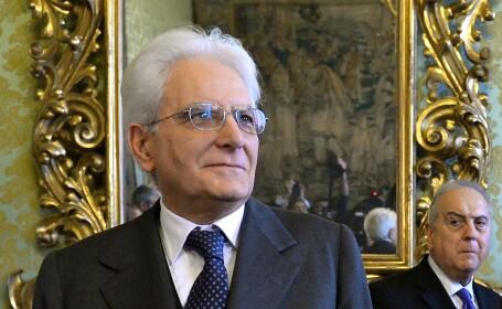 Parlamentul italian, dizolvat de președintele Sergio Mattarella