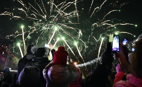artificii Parcul Titan - Agerpres
