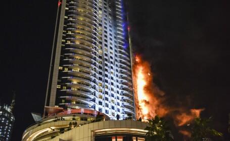 incendiu Dubai - Agerpres
