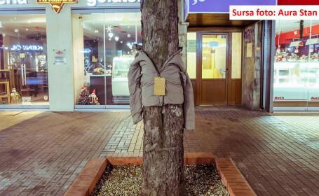 De ce au ajuns copacii din orasele Bulgariei sa fie imbracati cu haine de iarna. \
