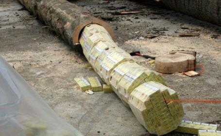 Cele mai ingenioase solutii gasite de contrabandistii cu tigari pentru a insela politia. GALERIE FOTO