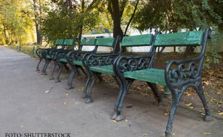 banci in parc in Bucuresti