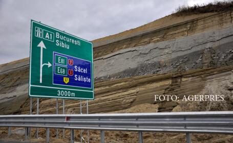 autostrada Orastie-Sibiu, Saliste - Cunta