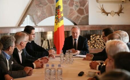 NIcolae Timofti, consultari cu partidele din Moldova
