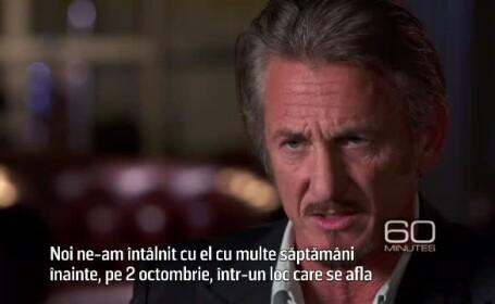 Dezvaluirile lui Sean Penn despre interviul cu \