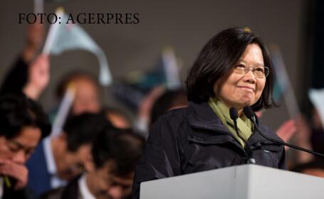 Taiwanul are prima femeie presedinte din istoria tarii. Ce a declarat imediat dupa ce a fost aleasa