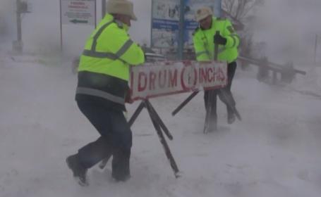 Pericol de avalanșă și drumuri închise. Ce județ este vizat