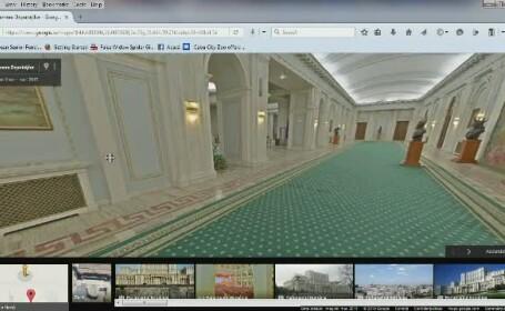 Casa Poporului, tur virtual