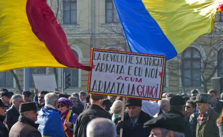 Un miting blocheaza in weekend traficul in Bucuresti. 25.000 de persoane, asteptate in Piata Victoriei