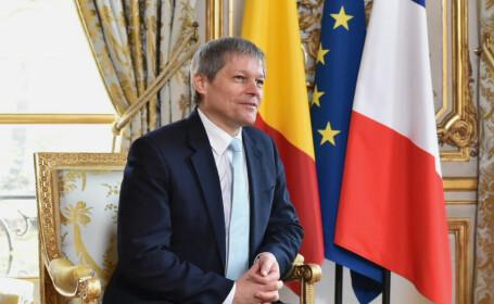 Dacian Ciolos in Franta