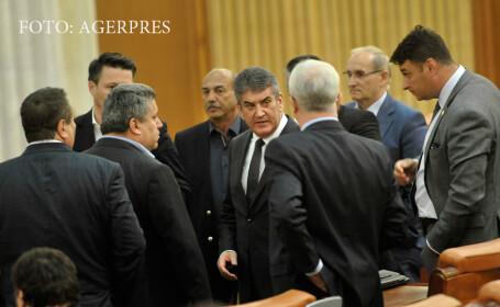 Gabriel Oprea in parlament