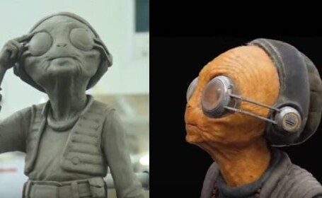 Cum au fost realizate efectele speciale ale ultimului episod din seria Star Wars. VIDEO