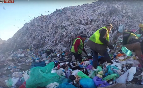 Groapa de gunoi a Clujului, in presa internationala. \