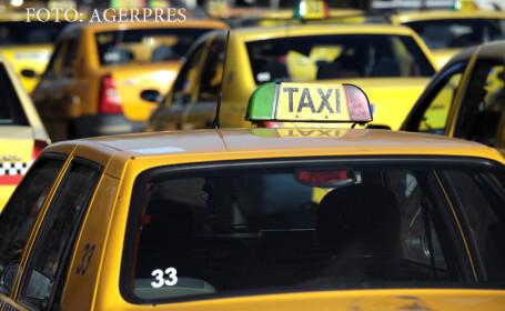 multe taxiuri in Bucuresti
