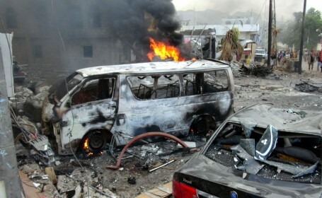 12 morti si 15 raniti intr-un atentat cu masina capcana in Yemen. Atacul a fost revendicat de ISIS