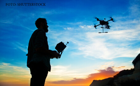 zbor cu drona