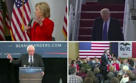 Luni incepe procesul de triere a candidatilor la presedintia SUA. Donald Trump: \