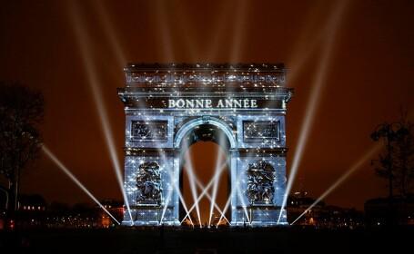La New York, Paris, Berlin sau Londra milioane de oameni au celebrat in strada intrarea in noul an. Revelionul in lume