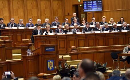 Guvernul Grindeanu in Parlament