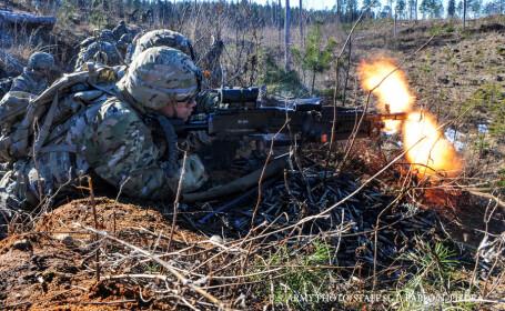 exercitiu militar american in tarile baltice, 2015