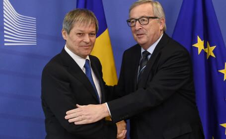 Dacian Ciolos, Claude Juncker, scrisoare