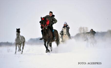 Caii, botezati in ziua de Boboteaza intr-o localitate din Prahova. Explicatia preotului din sat