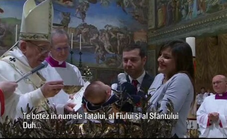 botez Papa Francisc