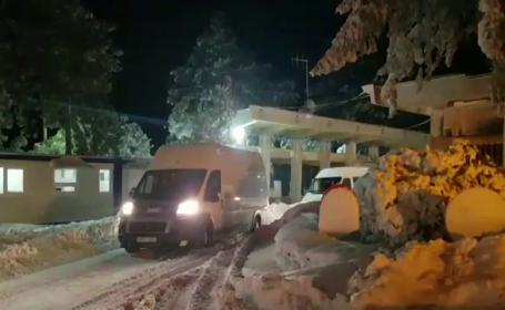 Cei 100 de turisti romani si moldoveni blocati de nameti in Bulgaria, adusi in tara. \