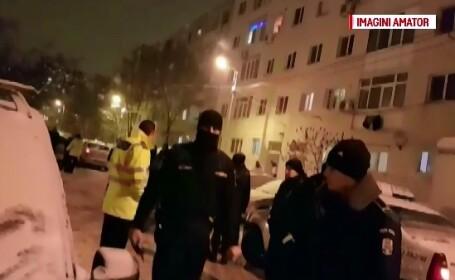 S-au tras focuri de arma duminica seara in Ploiesti. Un scandal intre vecini s-a incheiat cu interventia politiei