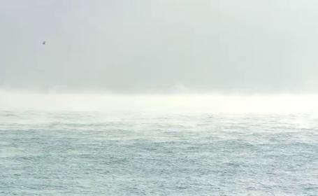 Fenomen spectaculos pe litoral: Marea Neagra \