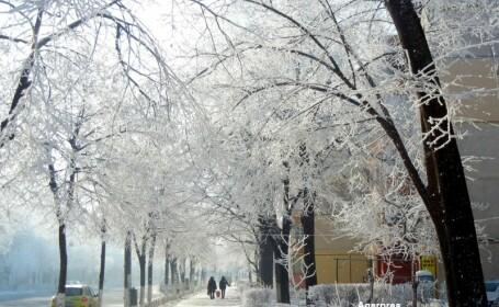 Romania, sub imperiul gerului: temperaturi de -29 de grade. Meteorologii anunta ca marti va fi si mai rau