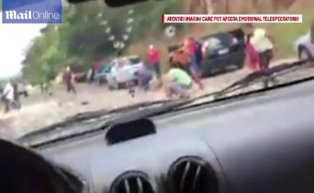 Reactie incredibila a martorilor unui grav accident rutier, in Venezuela. De ce nu au incercat sa ajute victimele. VIDEO
