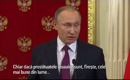 Putin, dupa scandalul filmarilor compromitatoare cu Trump: \