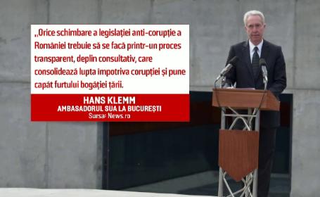 Hans Klemm, reactie protest
