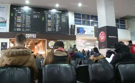 Mai multe avioane nu au putut ateriza in orasele de destinatie din cauza cetii. Ce curse au fost afectate