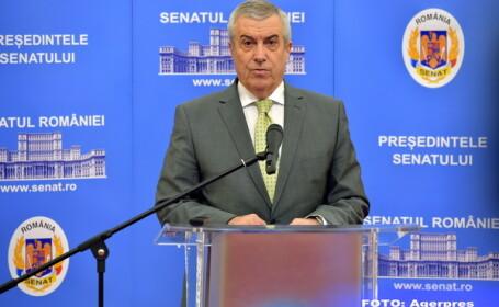Calin Popescu-Tariceanu: Se pare ca presedintele are un plan care sa duca la schimbarea Guvernului
