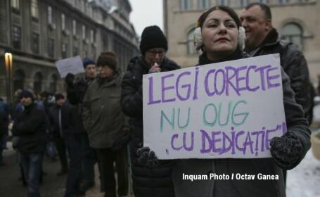 Proteste in Capitala impotriva ordonantelor de urgenta - 12