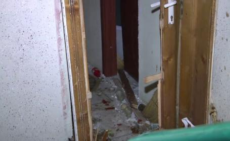 O explozie i-a distrus apartamentul unei batrane de 72 de ani, iar doua masini au fost avariate. \