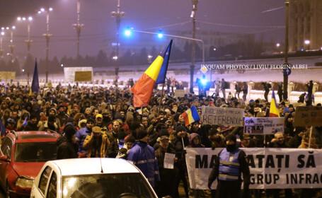 Klaus Iohannis reactioneaza dupa protestele masive de duminica: \