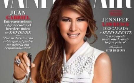 coperta Vanity Fair Melania Trump