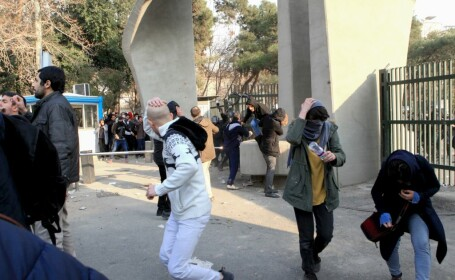 proteste in Teheran