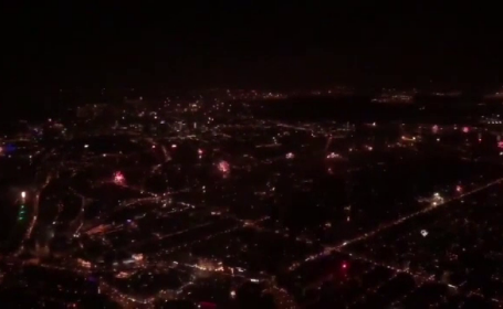 artificii olanda elicopter