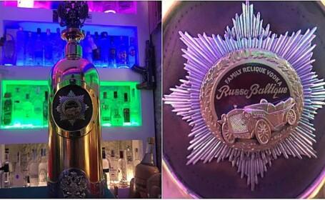 Sticlă de votcă în valoare de 1,3 milioane de dolari, furată dintr-un bar din Copenhaga